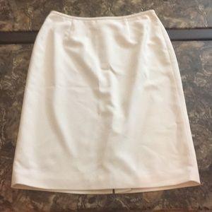 Liz Claiborne suits ivory pencil skirt